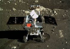 Chinese rover & lander beam back Selfies with China's Flag shining on Moon's Surface