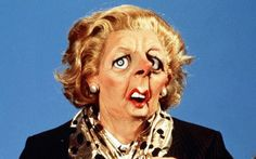 Margaret Thatcher puppet from Spitting Image photo