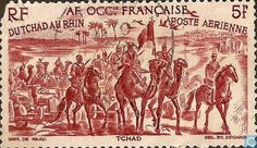 1946 AOF - French West Africa - Caravan