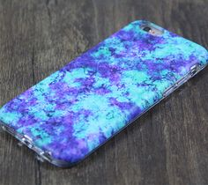 Green Violet Marble Protective iPhone 6s Case iPhone 6 plus S7 Edge SE Snap Case 3D 220