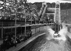 Shoot The Chutes Ride at Playland At The Beach San Francisco 1920s