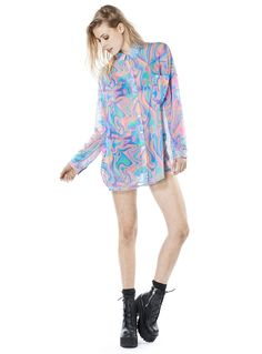 Check out more rainbow bright fashion here! #fashion #rainbow #UNIF