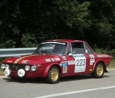Lancia Fulvia Old Hot Rods, Lancia Delta, Old Classic Cars, Bad To The Bone, Rally Car, Concept Cars, Cars And Motorcycles, Vintage Cars, Cool Cars