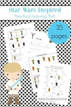 may the fourth be with you star wars preschool printable
