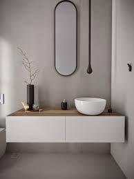Minosa: Powder Room - Something different is becoming Normal. Minosa: Powder Room - Something different is becoming Normal. Modern Bathroom Design, Contemporary Bathrooms, Bathroom Interior, Bad Inspiration, Bathroom Inspiration, Bathroom Ideas, Bathroom Organization, Organization Ideas, Bathroom Inspo