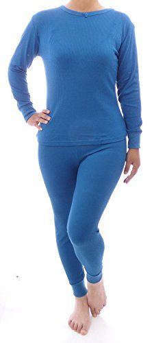 WebAisle Women's Soft Thermal Underwear Set Top and Bottom -- More info could be found at the image url.