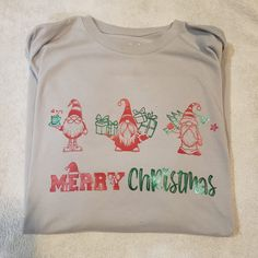 Thank you to Shannon R Martin for sharing her adorable shirt creation with me, I love it! Merry Christmas SVG Cut File Christmas Svg, Svg Cuts, Cute Shirts, Cutting Files, Cute Cheer Shirts, Silhouette Projects