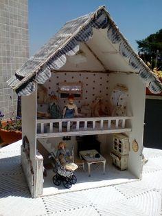 shabby e shabby creativity: Passione e lavoretti .....casa delle bambole