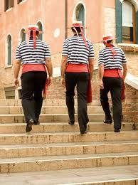 Gondolieri di Venezia ....