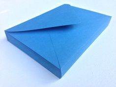 50 A7 5x7 Lake Blue Paper Source Invitation by SEEDInvites on Etsy, $19.00