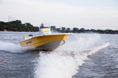Tough enough to get you anywhere. The perfect bay boat.