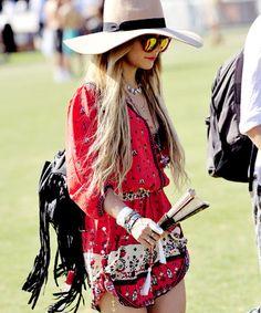 Vanessa Hudgens at Coachella 2014 in Wildfox Classic Fox Deluxe sunnies.