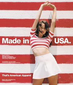 猥褻か芸術か?渦中の #アメリカンアパレル 広告 ジャパラ厳選 部屋に飾れる #アメアパ ポスター40枚 – #AmericanApparel ADS - http://japa.la/?p=42298