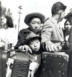 Dorothea Lange: Turlock CA, Japanese Evacuees May 2, 1942