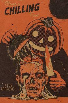 Halloween Scarecrow, Halloween Artwork, Halloween Poster, Halloween Wallpaper, Halloween Horror, Fall Halloween, Halloween Crafts, Halloween Ideas, Happy Halloween