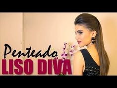 Penteado: Liso Diva - Poder de Arrasar.. #by Camila Coelho....
