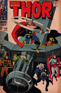 The Mighty Thor 156 - Stan Lee and Jack Kirby