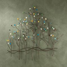 Have to have it. Gemstone Forest Wall Sculpture $69.99