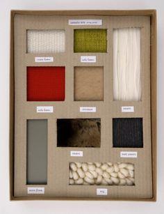 presentation of materials interior - Google Search