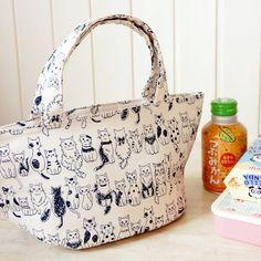 Free Shipping Japanese insulated lunch bag from YOZO CRAFT by DaWanda.com