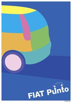 Original Poster Graphic / Fiat Punto