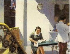 The Barber Shop, 1931 by Edward Hopper