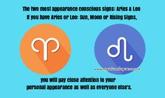 Leo & Aries the appearance conscious signs Aries And Leo, Everyone Else, Life Is Beautiful, Consciousness, Mystic, Astrology, Two By Two, Signs, Life Is Good