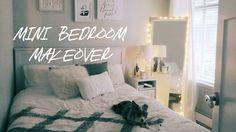 Little Cozy Bedroom Tour | Mini Makeover 2016 = Adorei os quadros. Especialmente as penas (tentar em vidro)