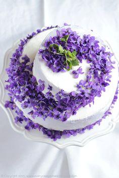 Frivolous Fabulous - Violet Cake