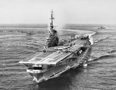 USS Coral Sea, a Midway-class aircraft carrier, was the third ship of the United States Navy to be named for the Battle of the Coral Sea.
