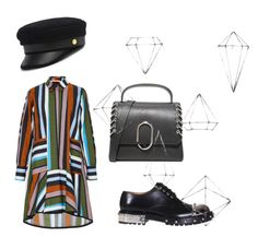 """""""stripe hype"""" by gusti-ayu-dui-sudarwa on Polyvore featuring Smarteez, Alexander McQueen, 3.1 Phillip Lim, Henri Bendel and Umbra"""