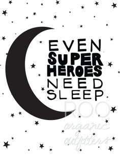 "INSTANT DOWNLOAD- ""Superheroes"" Digital Printable Black and White Nursery Kids…"