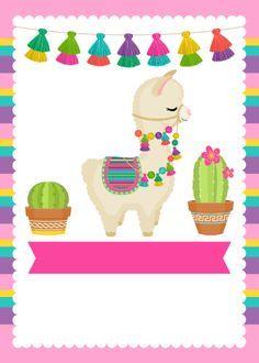 Alpacas, Llama Birthday, 3rd Birthday, Llama Alpaca, Fiesta Party, Diy Arts And Crafts, Toy Store, Cool Items, Party Printables