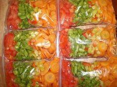 Секреты заморозки овощей и ягод