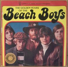 """The Golden Years of the Beach Boys 12"""" ROCK LP - CANDLELITE SLB-6994 - 33 RPM #SurfHotRod"""