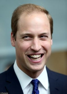 Happy birthday: Prince William has made a smooth transition from tiny prince to dignified heir