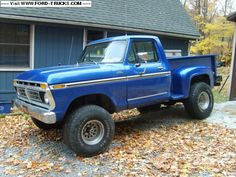 Check this out! I totally appreciate this color scheme for this %%KEYWORD%% 1979 Ford Truck, Old Ford Trucks, Pickup Trucks, Lifted Trucks, F150 Truck, Ford F150 Pickup, Cool Trucks, Big Trucks, Chevy Stepside