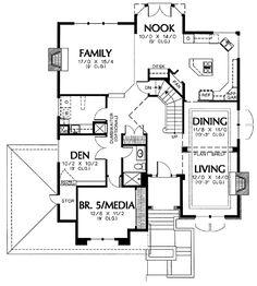 Gourmet Kitchen Floor Plans