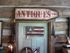 "Old Quilts - Painted Sign Old Wall Cabinet Make Over and Hand Painted Tavern Sign Painted ""Quilt Square"" Magazine Table C. Painted Ironing Board, Antique Ironing Boards, Painted Boards, Painted Signs, Hand Painted, Painted Wood, Primitive Homes, Primitive Crafts, Wood Crafts"
