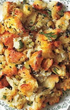 Simple is Best Dressing~Don't make it harder than it has to be. This easy Thanksgiving stuffing recipe will let you focus on the main event.
