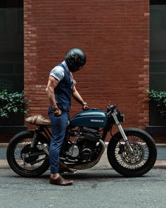 Have a look at many of my most popular builds - custom scrambler motorcycles like this Honda Cb, Custom Cafe Racer, Cafe Racer Bikes, Cafe Racers, Vintage Cafe Racer, Best Motorbike, Cafe Racer Motorcycle, Motos Bmw, Cb 500
