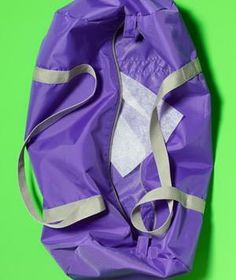 Toss a dryer sheet into your gym bag to help control odor.