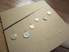 homemade christmas fingerprint cards - Google Search