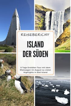 Reisebericht Island ★ 7 Tage Ersttäter-Tour durch Südisland Travelogue Iceland from my first-time offender tour through southern Iceland. 7 days I was there and I love the island and also learned to hate. Why are you experiencing here! Africa Destinations, Travel Destinations, Lofoten, Travel Report, Iceland Landscape, Iceland Waterfalls, Reisen In Europa, Island Tour, Camping World