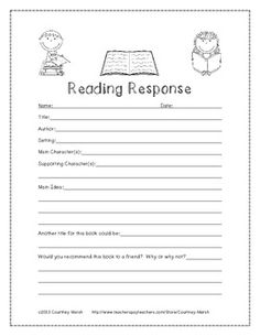Worksheets Independent Reading Worksheets reading logs homework and on pinterest response this sheet is useful for students in grades 2