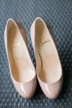 Bridal Shoes by Christian Louboutin. Photo by Stories by Integricity. www.theweddingnotebook.com
