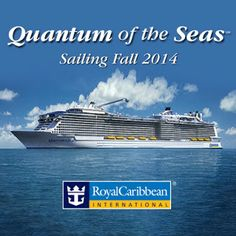 April 2013/QUANTUM OF THE SEAS includes an observation capsule called The North Star on a movable arm from 300 ft above the water