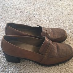 Women's Loafers Size 10. Worn once. In excellent condition. Naturalizer Shoes Flats & Loafers