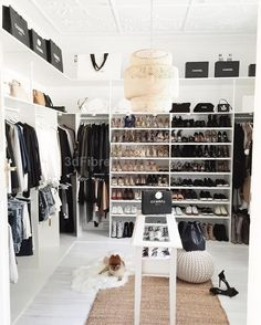 Enviable closet space: How to turn your spare room into your dream walk-in wardrobe (on a budget).