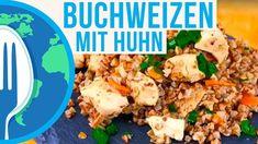 Hähnchen mit Buchweizen - Rezept von Um Die Welt Kochen Fried Rice, Fries, Ethnic Recipes, Food, Rusk Recipe, No Egg Pancakes, Eten, Meals, Stir Fry Rice